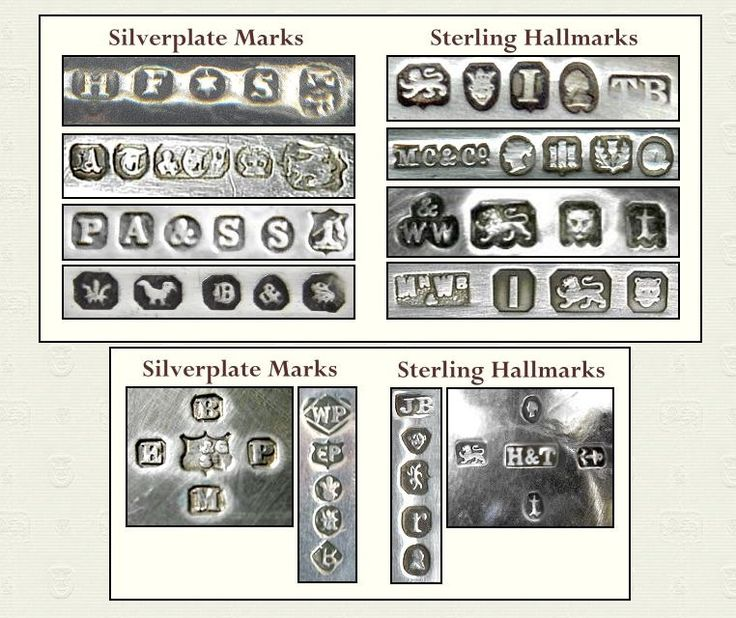17 best images about sterling silver hallmarks on jewelry