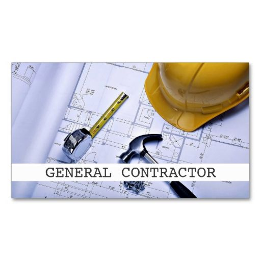 8 best business cards for technology companies startups for Be your own general contractor