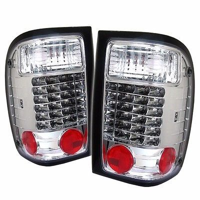 NEWMAR MOUNTAIN AIRE 2000 2001 PAIR CHROME LED TAIL LIGHTS TAILLIGHTS LAMP RV