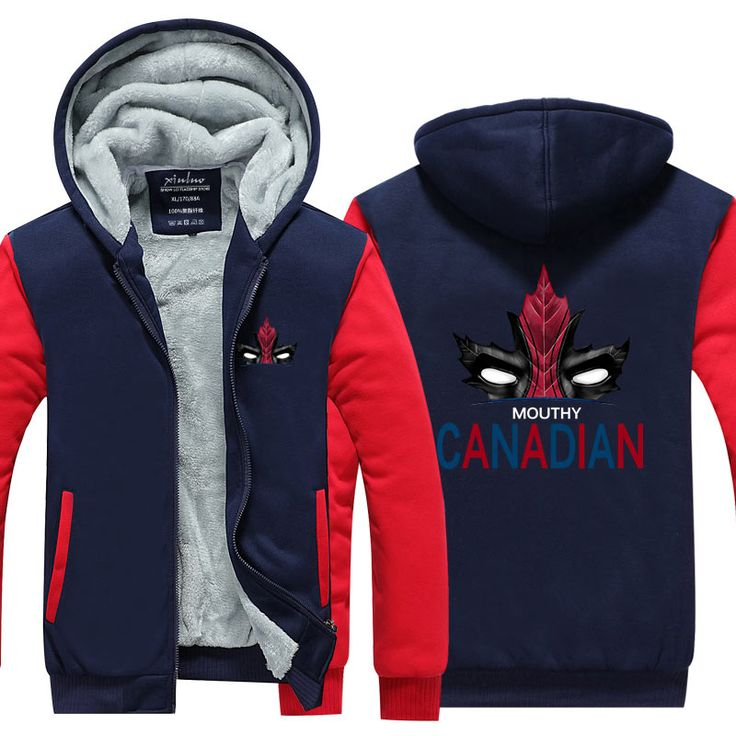 Men's Deadpool Hoodies //Price: $50.00 & FREE Shipping //     #superheroez #superheroes #marvel #dccomics