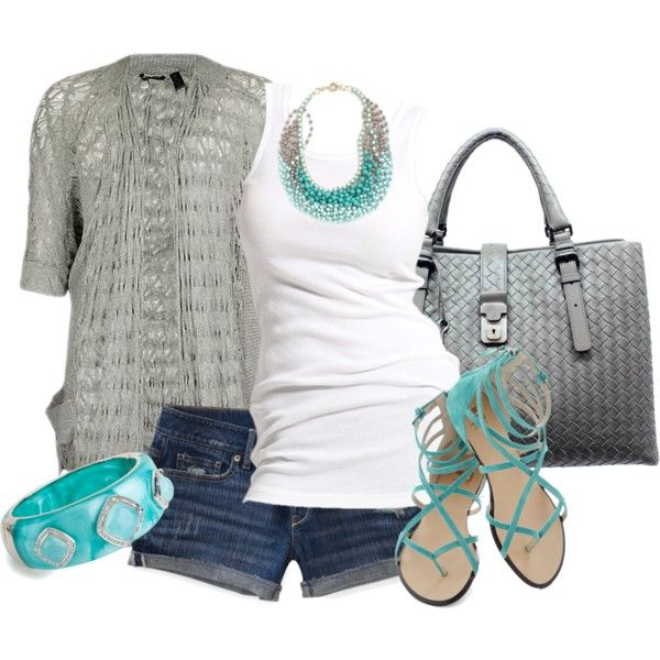 Silvered Teal by jewhite76 on Polyvore