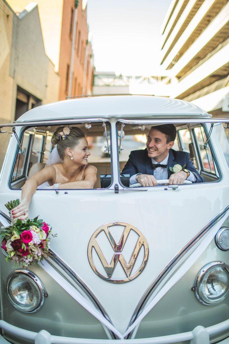 Sav+Pete - WEDDING Photo By Curly Tree Photography kombi van
