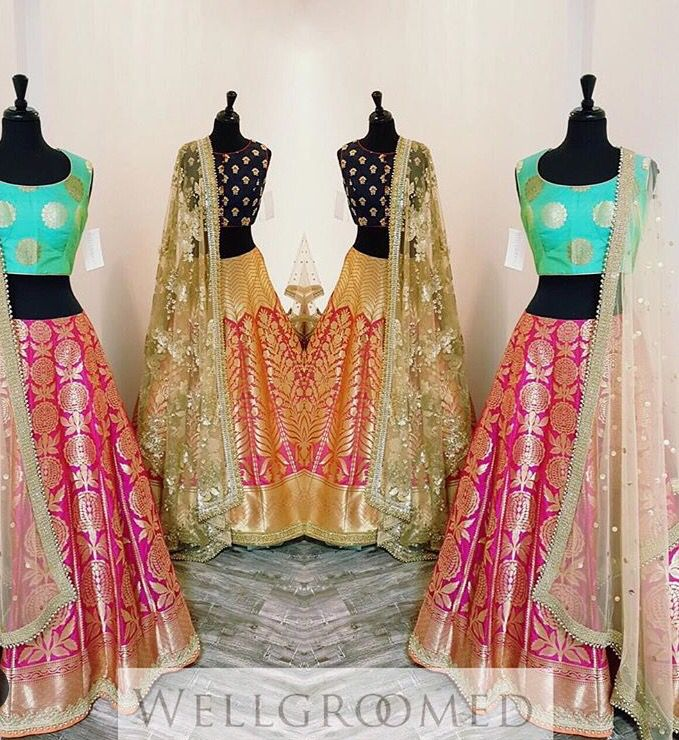 Well groomed inc# collection # lehenga # bridal love # Banarsi love #