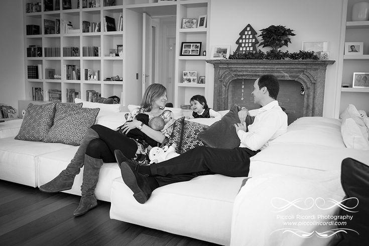 Servizio fotografico famiglia natale | Fotografo Famiglia Milano