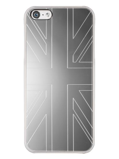 QDOS Smoothies Metallics Case Mirror UK voor Apple iPhone 5S / 5