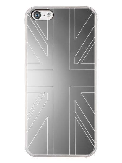QDOS Smoothies Metallics Case Mirror UK voor Apple iPhone 5S / 5