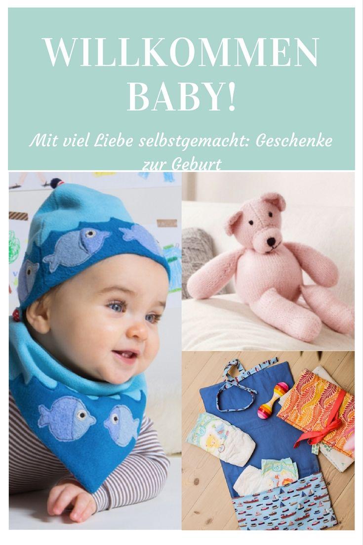 Nähen, stricken oder häkeln: Die schönsten Geschenke zur Geburt - süß, individuell und praktisch.