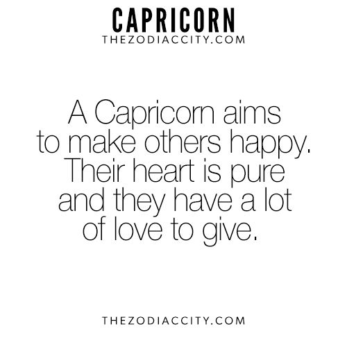 What It Means To Love A Capricorn