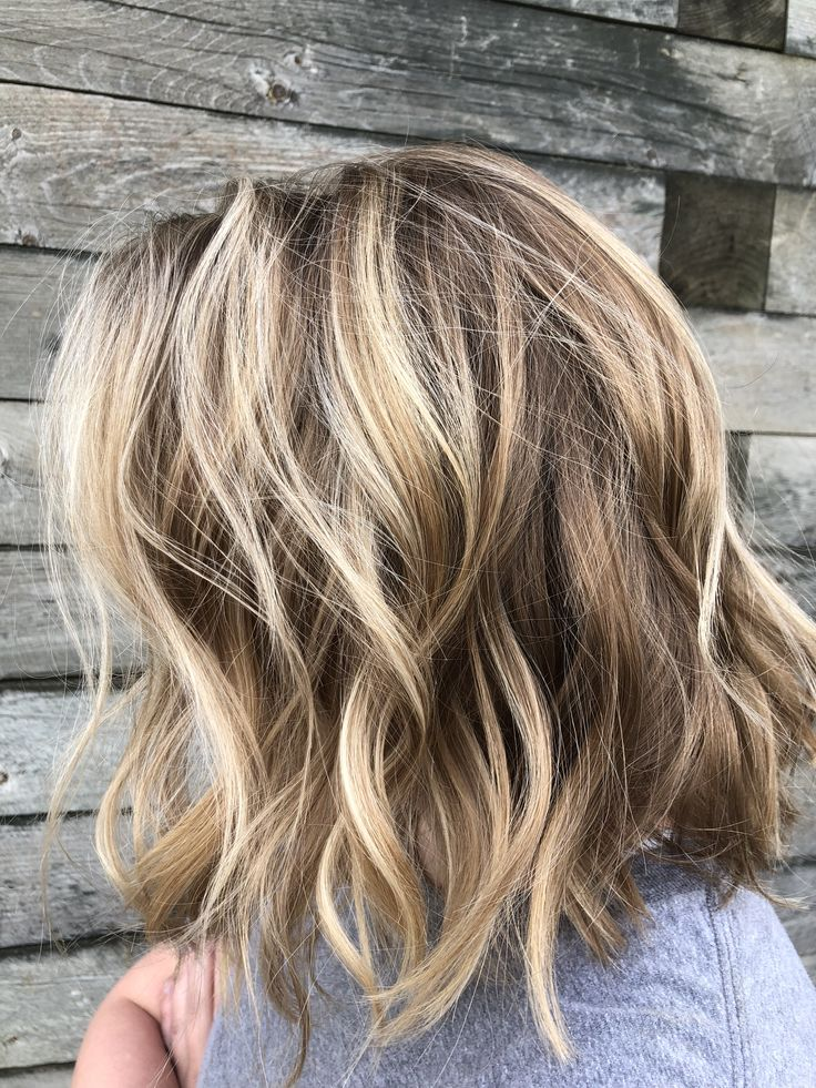 Chunky lowlights in blonde hair pictures — photo 6