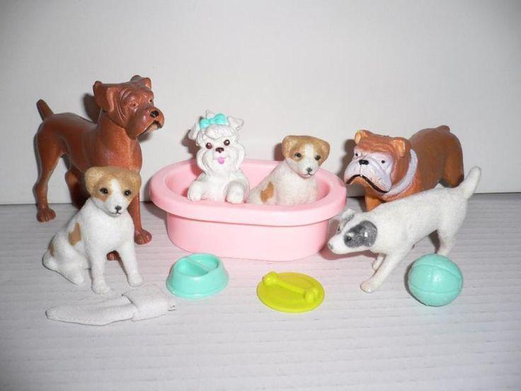 Mattel Barbie Hund verschiedene Hunderassen   ZubehörZustand:Sehr gut, leichte…