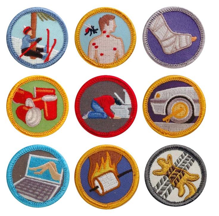 Requisitos de insignia de Girl Scouts Junior