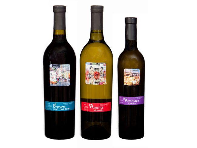 etichette vini pregiati | nomi dell'arte incontrano le terre del vino – Espoarte