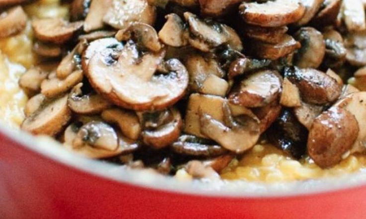 Recette: Le risotto aux champignons!