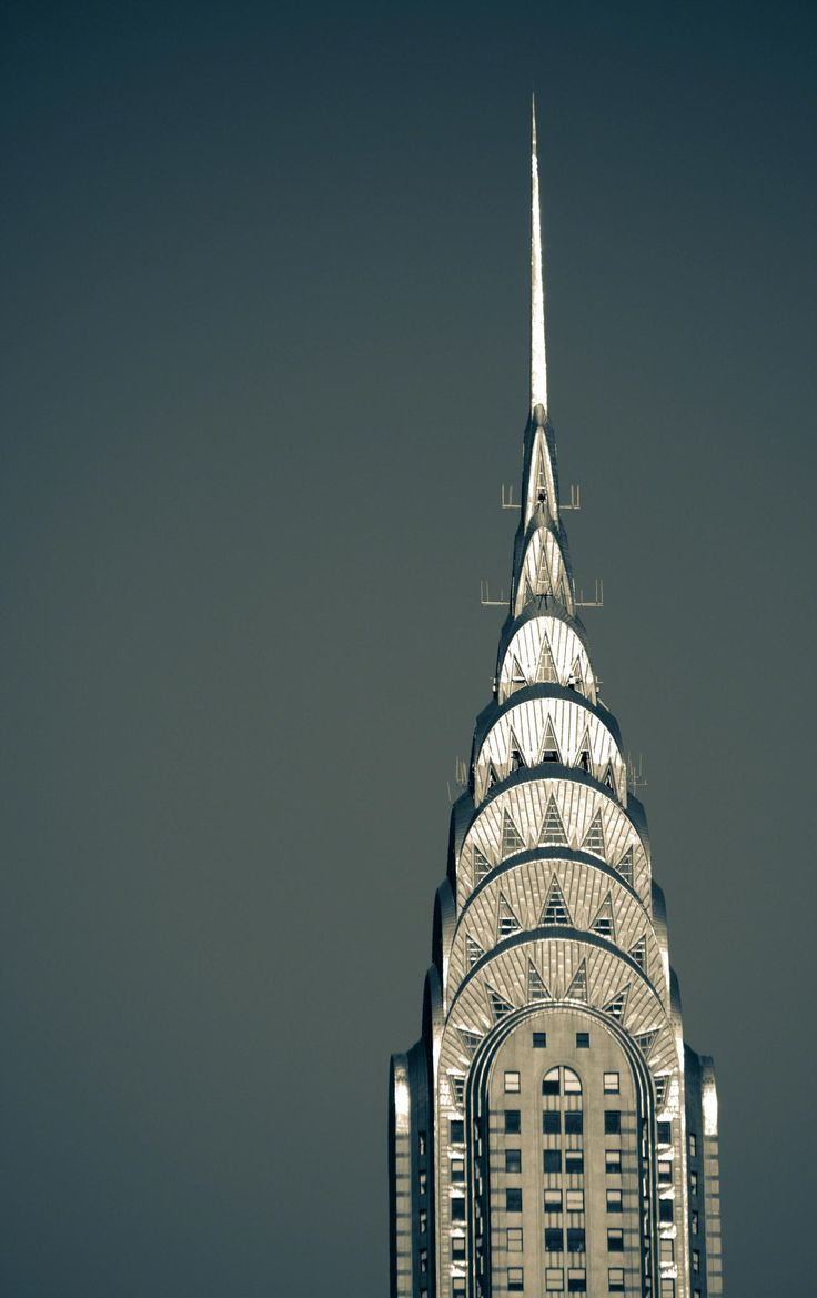 The Chrysler Building - Beautiful Architecture.