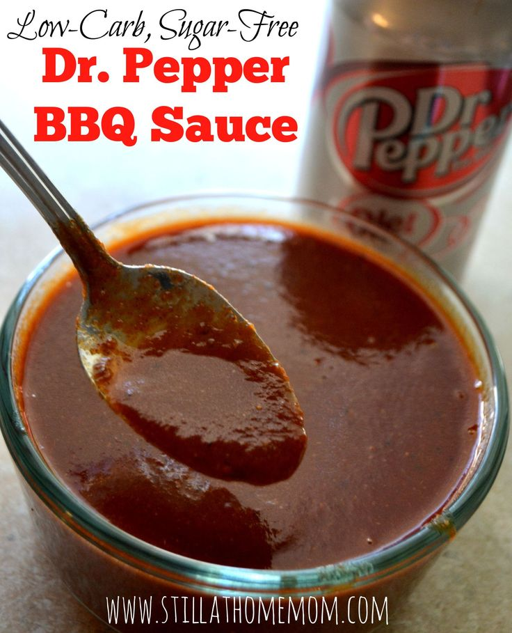 Low-Carb Dr. Pepper BBQ Sauce
