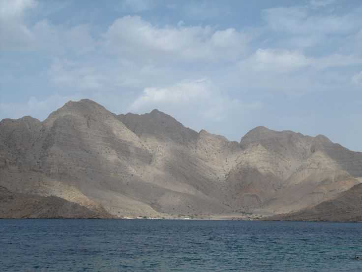 Oman From a Boat