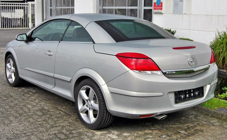 Opel Astra H TwinTop Facelift