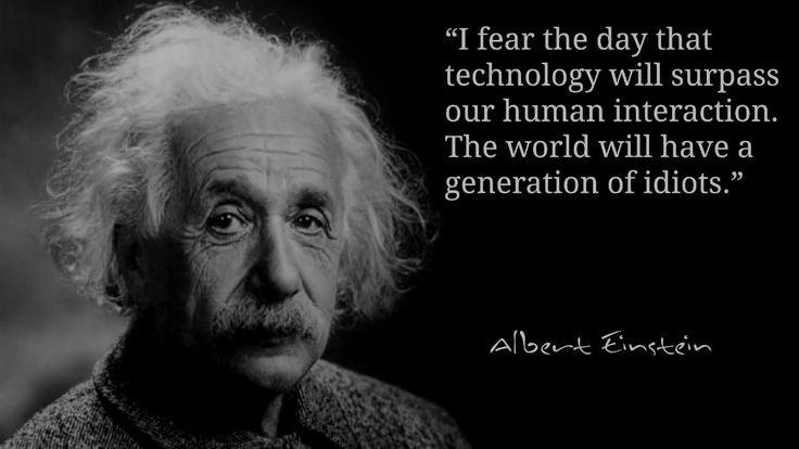 awesome Einstein Warned! AI Robot Technology Would Make Humans A Generation of Idiots