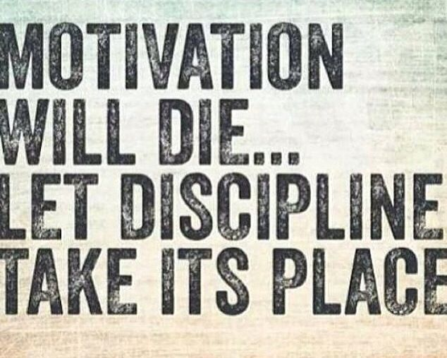 Discipline vs Motivation