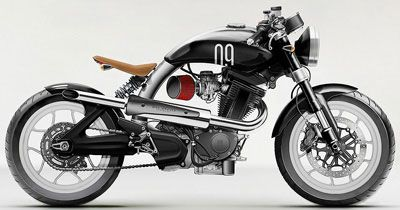 Defining The Lines Of The Modern Cafe Racer at Cyril Huze Post ...