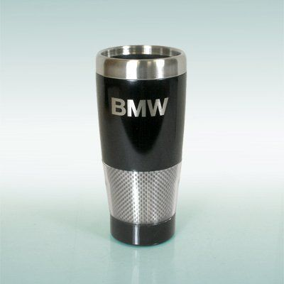 BMW Genuine Insulated Tumbler Travel Mug OEM by BMW. $13.53. - 18 oz.. - BMW Lettering.. It fits All BMW models - 1 3 5 6 7 8 Z3 Z4 Z8 Series. - Insulated tumbler features carbon fiber design and slide-lock top.. - OEM BMW Accessory. Item Description: New Factory Original BMW Black Insulated Tumbler / Travel Mug / Coffee Mug / Cup. - Color: Black.. Save 32% Off!
