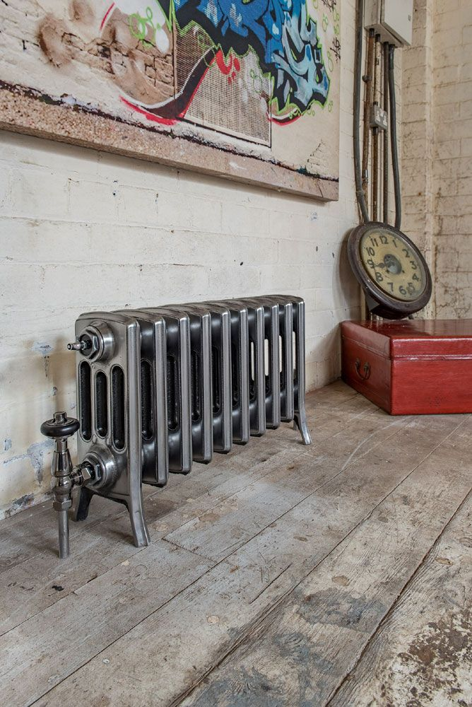 Marvelous Forge Lacquered Bare Cast Iron Radiator