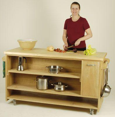 Furniture As A Kitchen Island