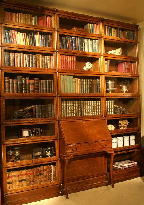 Globe Wernicke Bookcases.