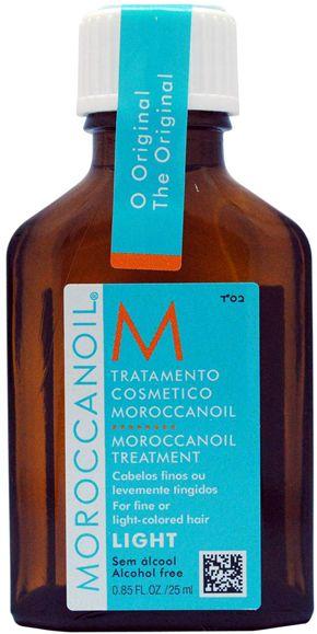 MOROCCANOIL® Light Olie behandling til fint hår 25 ml.
