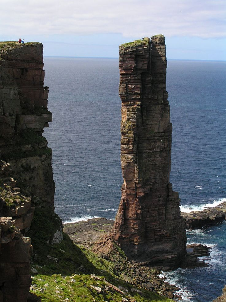 Old Man of Hoy - Orkney Islands, Scotland by Roger B.