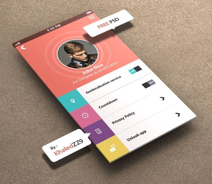 Inspiration mobile #1 : des applications et du web design ! - interface | localbizconnect.com | #mobilewebsite