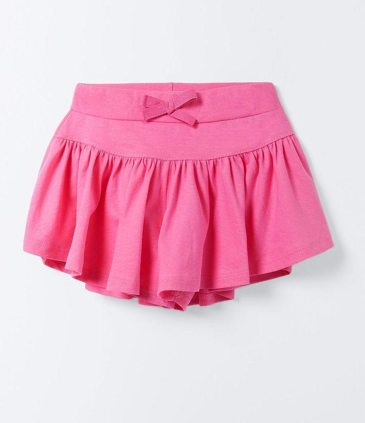 Short Saia Infantil com Laço Aplicado - Tam 1 a 4 anos - Lojas Renner