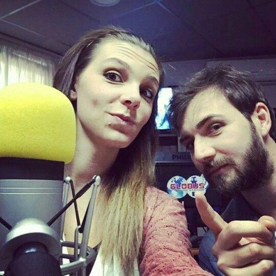 Selfie di oggi pomeriggio prima della diretta su Globus Radio Station!  #teatro #radio #theatre