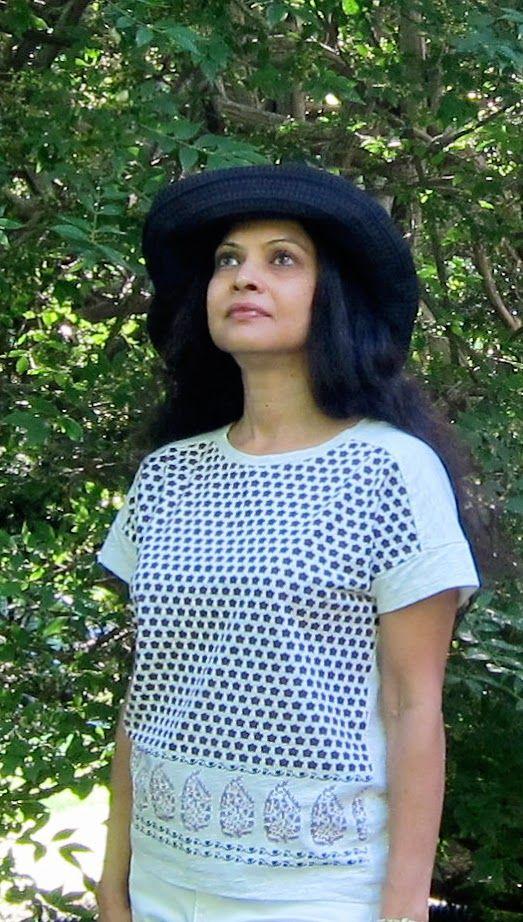 Uniqlo cotton T shirt, Loft jeans and Target hat - 2016