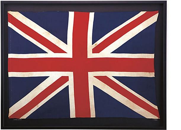 Diseño de la bandera Union Jack Vintage con