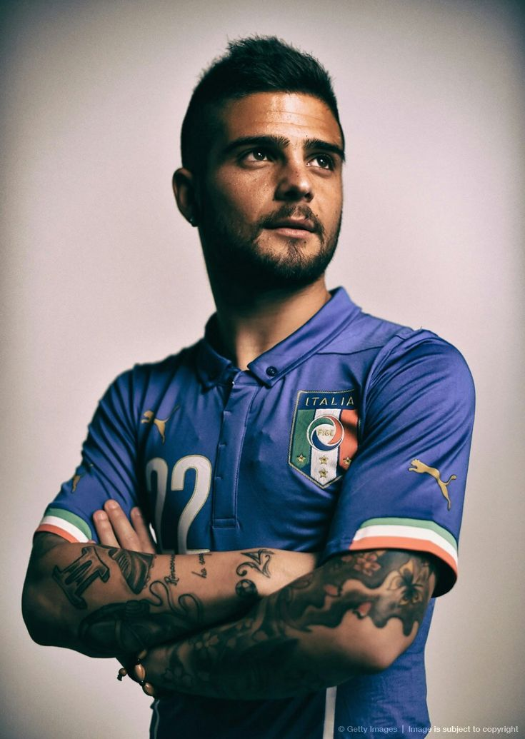 Lorenzo Insigne men's Italian soccer team