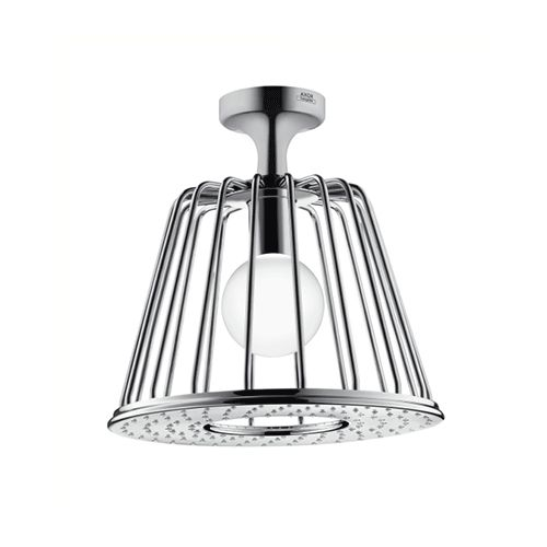 hansgrohe axor nendo 1 jet shower head with lamp