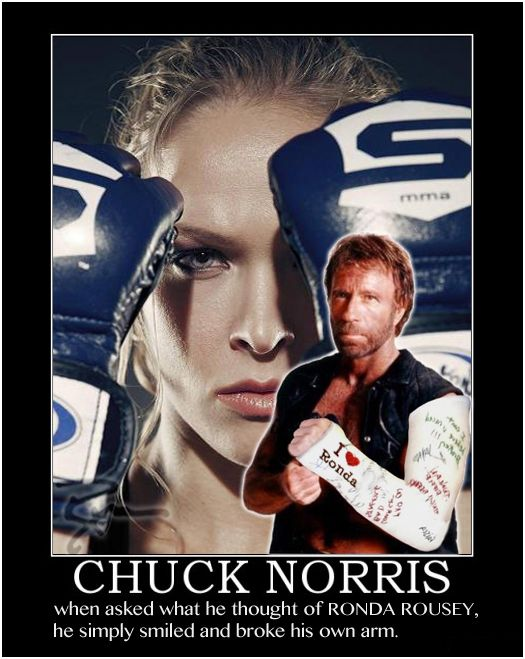 Chuck Norris Vs. Ronda Rousey - LifeofRyan #ArmbarNation See more at RondaRousey.net