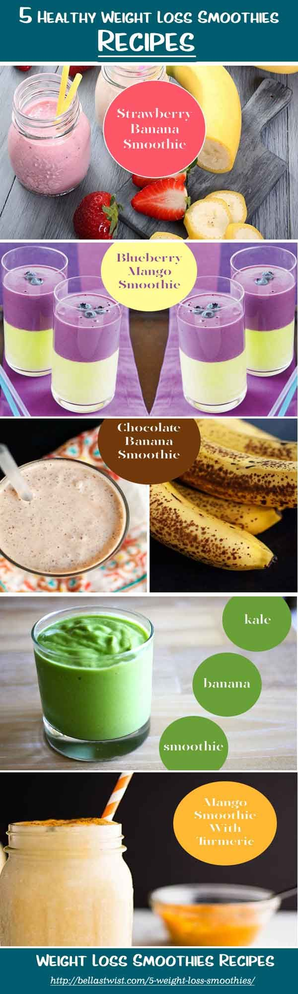 These delicious healthy weight loss smoothie recipes easily to make at home. These smoothies also help in losing weight and gives you all the nutritional ingredients required for body. #weightloss #weightloss smoothies bellyfat #weightlossplan #recipes #r