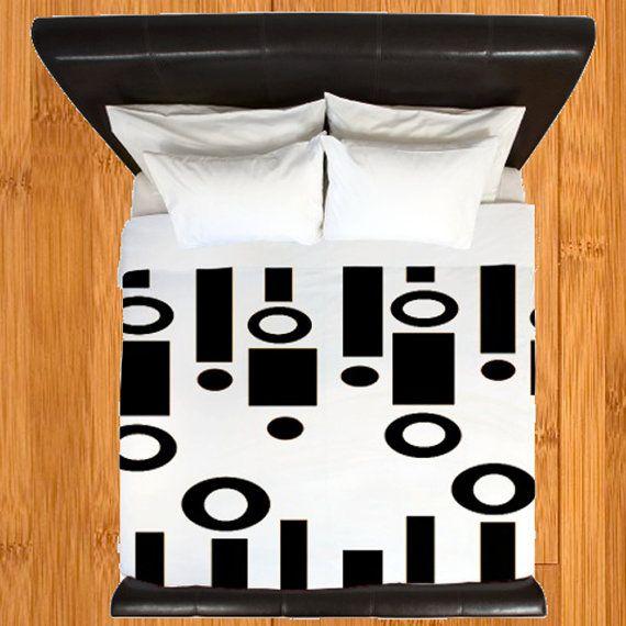 Modern Duvet Cover,Retro Duvet Cover,Geometric Duvet Cover,Mid Century Modern Duvet Cover, Funky Duvet Cover, Mid Century Modern Bedding