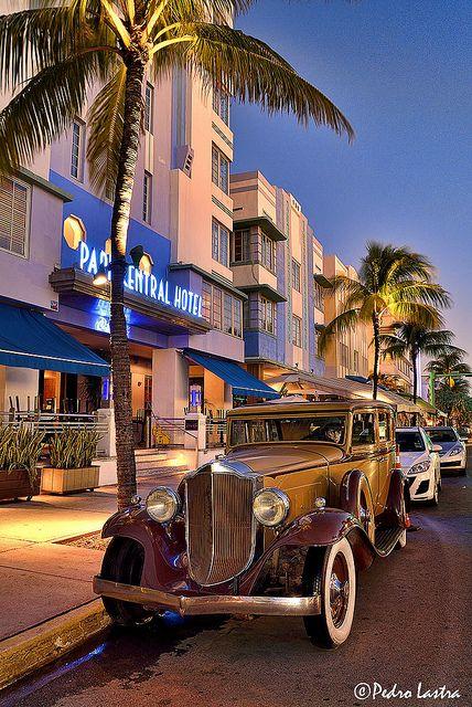 Park Central Hotel, SoBe, Miami, Florida Miami Hotel Interior Designs
