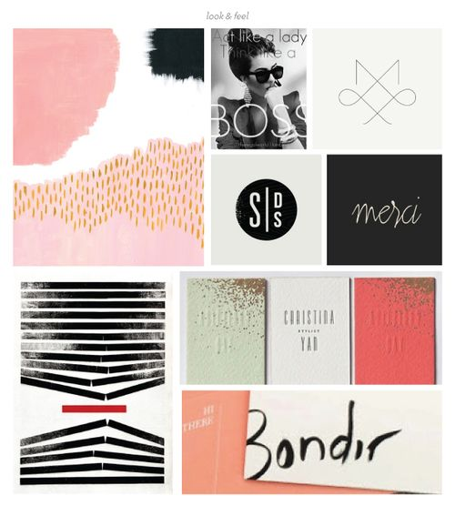 Photographer Branding Moodboard // Grit  Wit Brand Design for Event Creatives