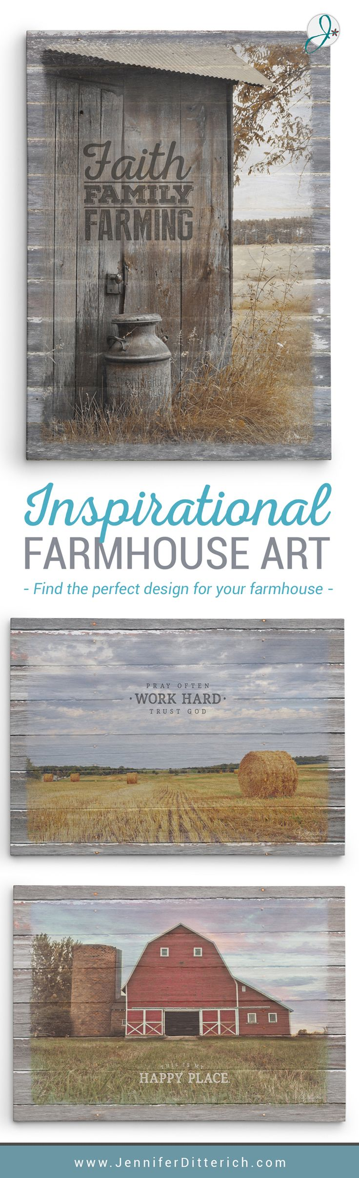 Modern farmhouse prints with traditional down-home values. Decorate your home with these beautiful, uplifting canvas prints, designed to inspire and uplift your family.