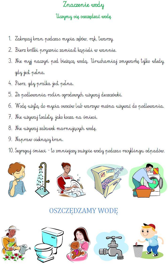Blog Edukacyjny Dla Dzieci Znaczenie Wody Kids Learning Kids And Parenting Education