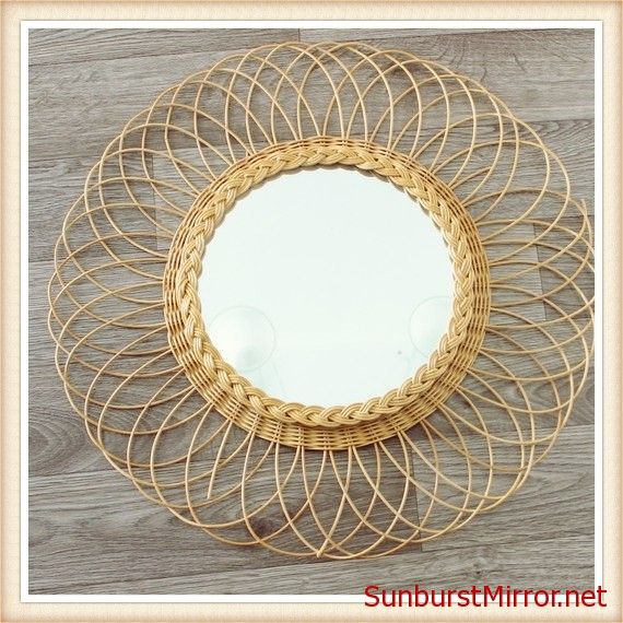 Gold Sunburst Mirrors #5
