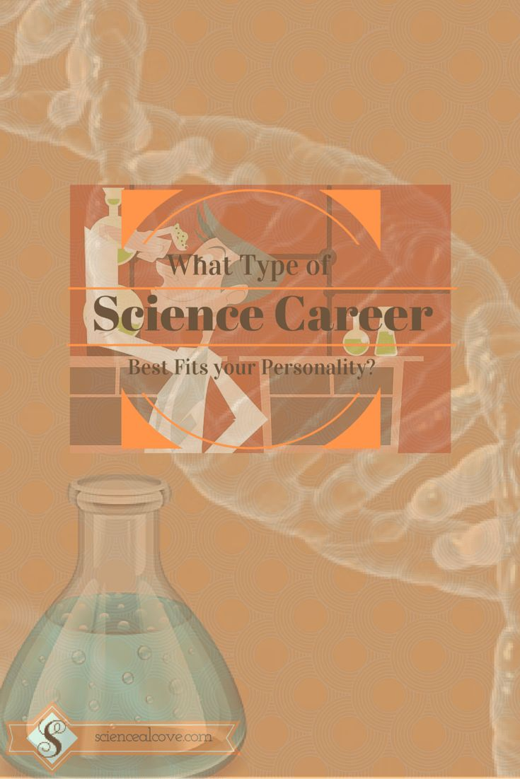 Science Career Personality Test Are you the mad scientist type who likes to work alone creating wild stuff found only in the mind of the slightly off-kilter personality? Or are you more the adventurous world traveller soaking in knowledge as you go and leaving goods deeds done along the way?Take the following science jobpersonality test. Find out what science jobis suggested byyourpersonality. #sciencecareers #sciencejobs #madscientist