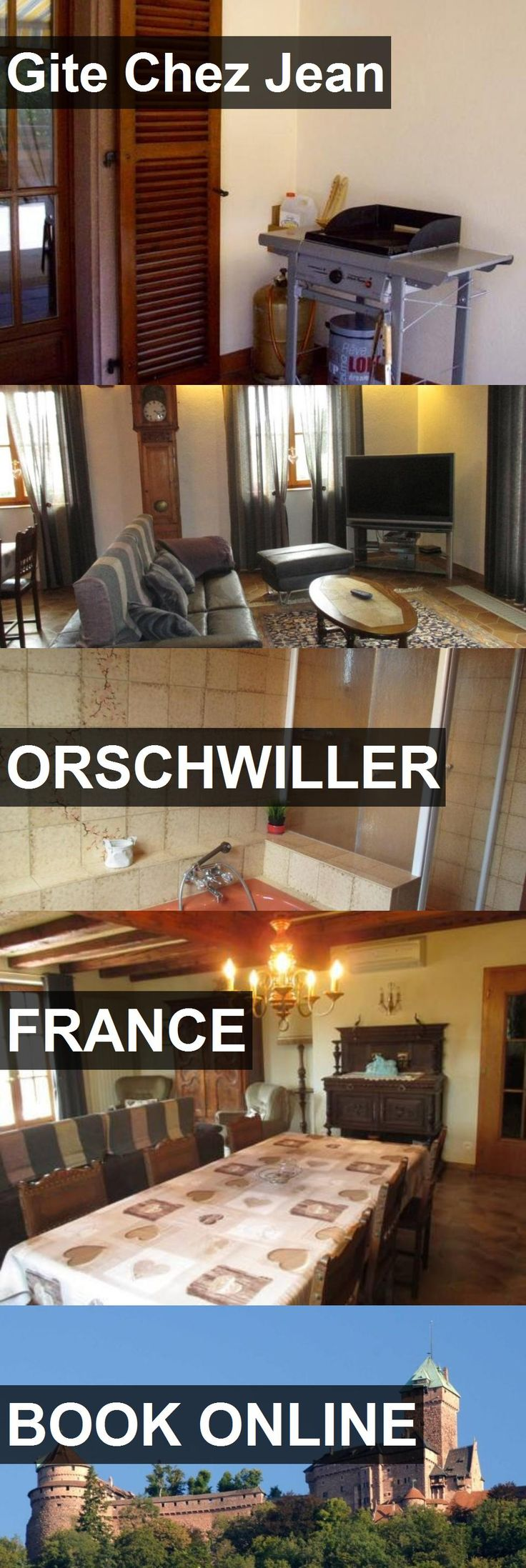 Hotel Gite Chez Jean in Orschwiller, France. For more information, photos, reviews and best prices please follow the link. #France #Orschwiller #GiteChezJean #hotel #travel #vacation