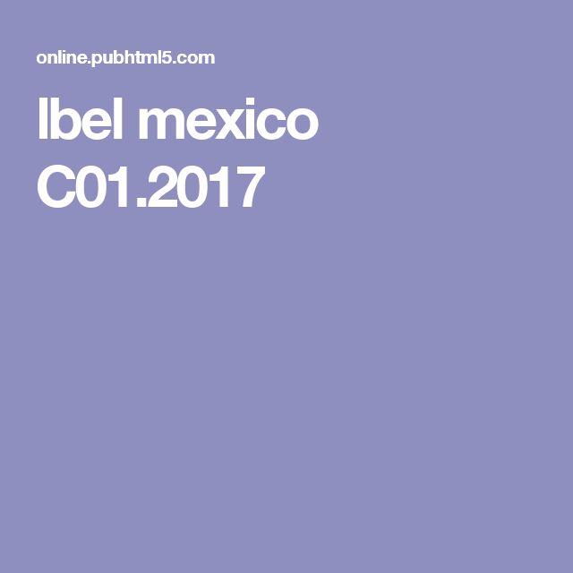 lbel mexico C01.2017