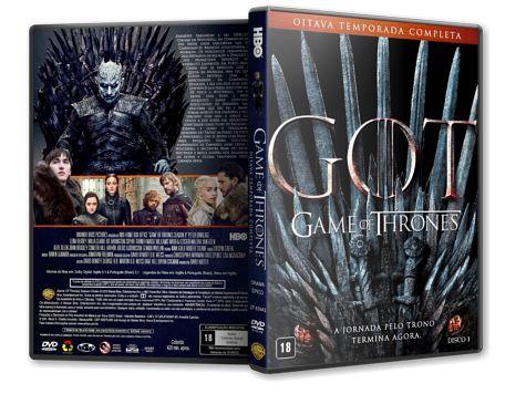 Game Of Thrones 8ª Temporada Dvd Capa Patrulha Da Noite Dvd