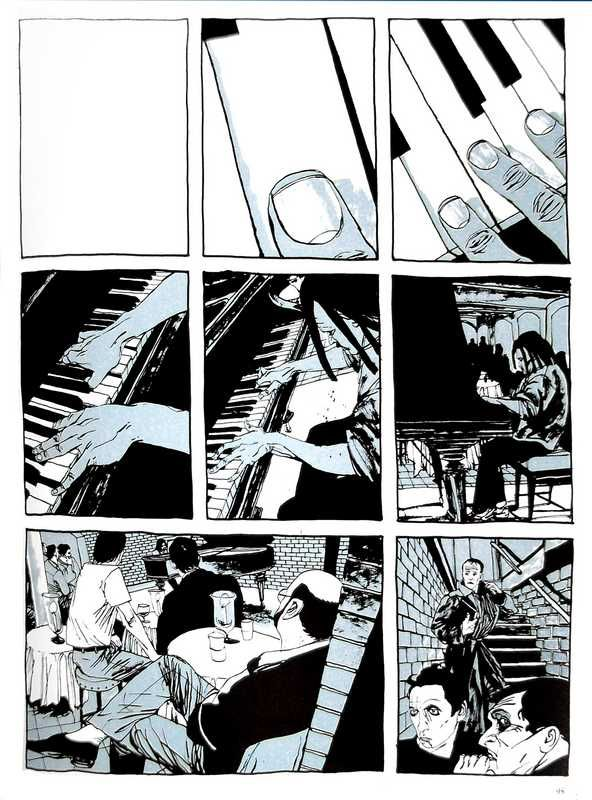 Music and cats are the focus of one of my favorite Dave McKean joints: CAGES.